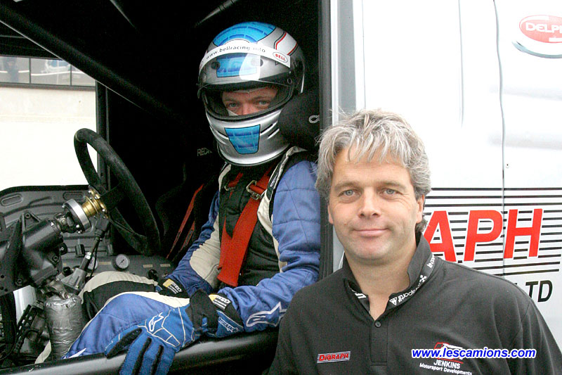 David Jenkins et son fr?re - Le Mans 2009