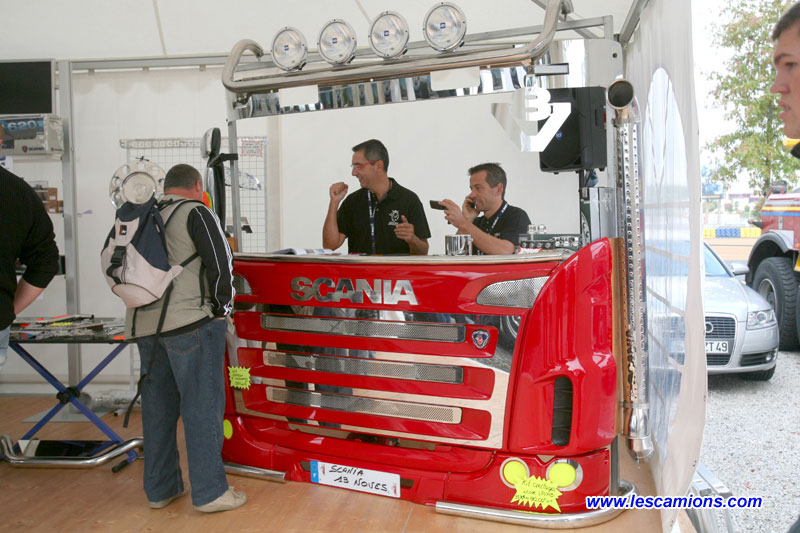 Animations Scania - Le Mans 2009