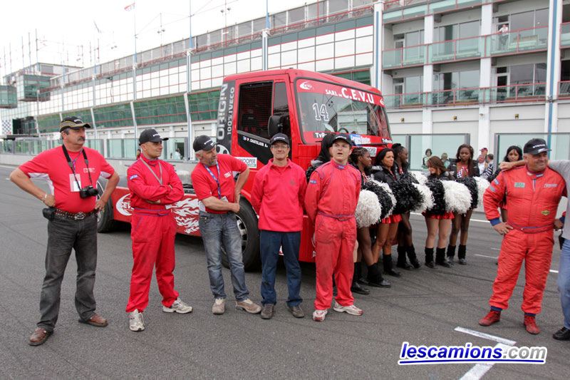 Le team Truck Toulousain - Magny-Cours 2010